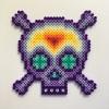 Mystic Skull / 14x14 cm / 2018