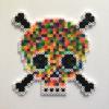 Acid Skull / 14x14 cm / 2018