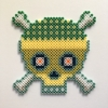 Organic Skull / 14x14 cm / 2018