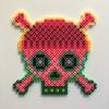 Cap Skull / 14x14 cm / 2018