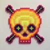 Laser Skull / 14x14 cm / 2018