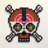 Mosh Skull / 14x14 cm / 2018