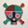 Pattern Skull / 14x14 cm / 2018