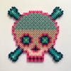 Pale Skull / 14x14 cm / 2018