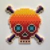 Heat Skull / 14x14 cm / 2018