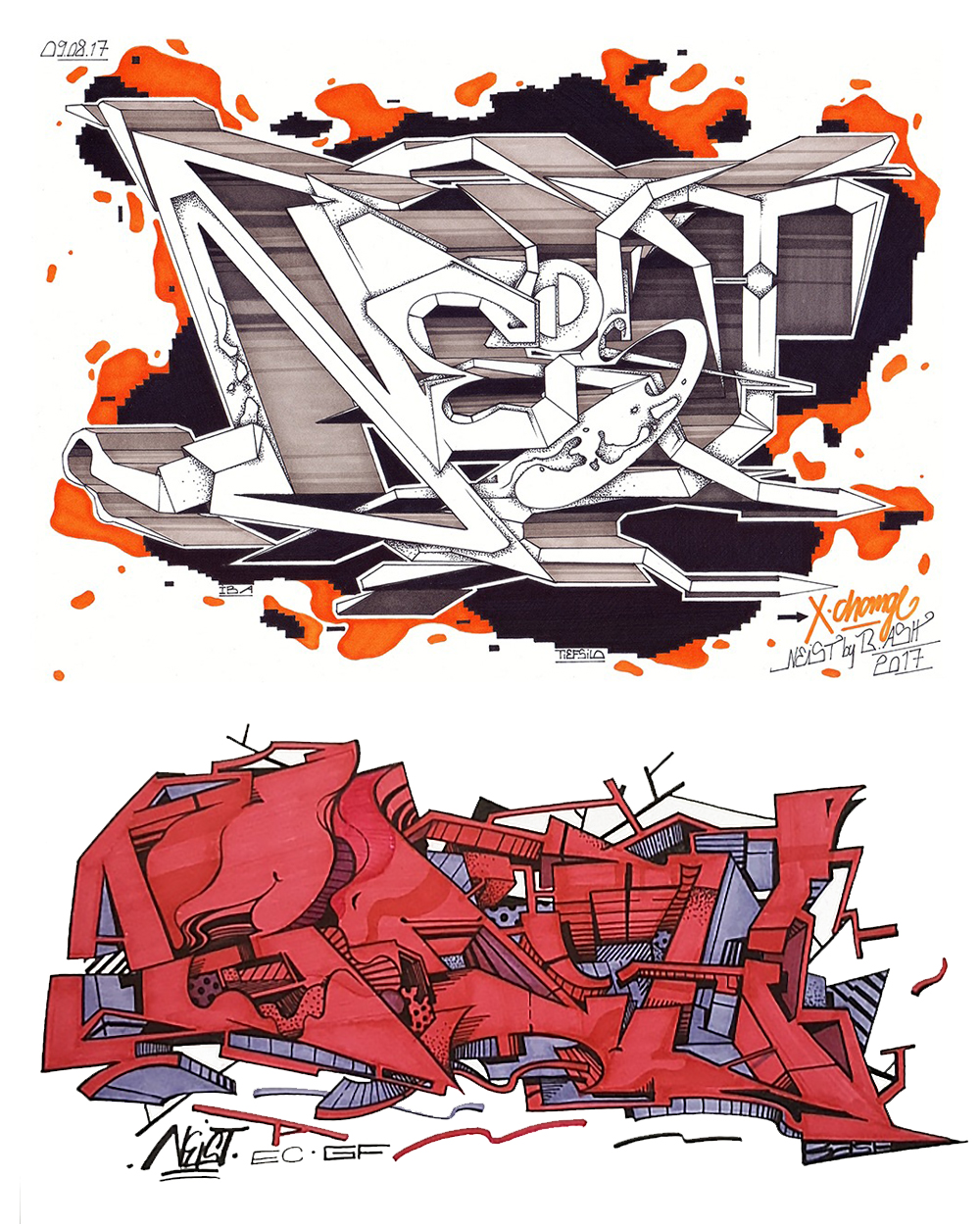 Style exchange with NEIST from France